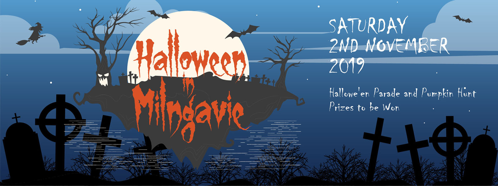 Milngavie Halloween 2019. We dare you to come
