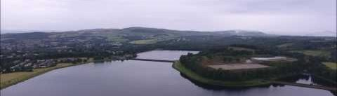 Milngavie Reservoir, Scotland.
