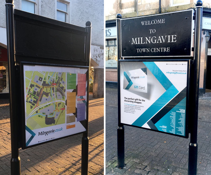 Milngavie display boards 2019