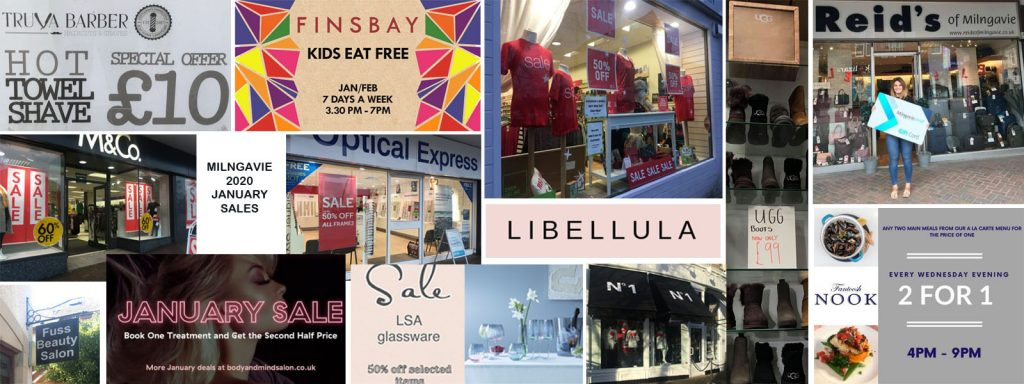 Milngavie January Sales 2020