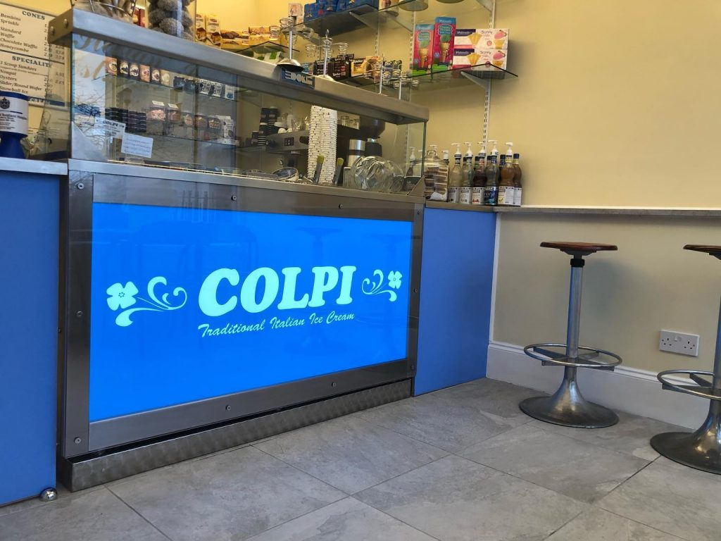 Colpi ice cream shop