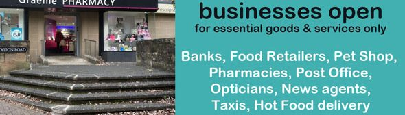 Essential Open Businesses news