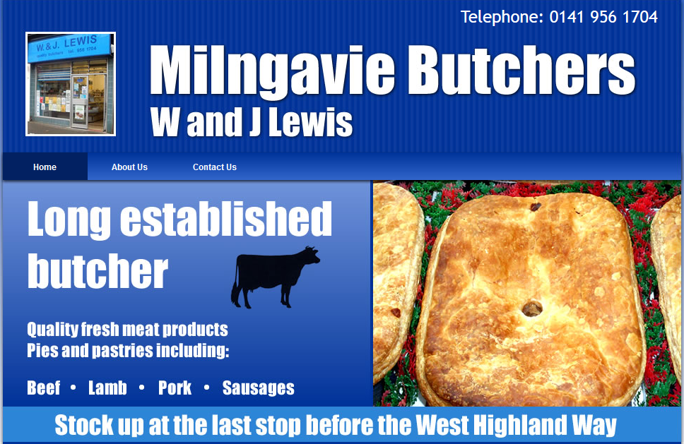 Milngavie butchers shops opening times