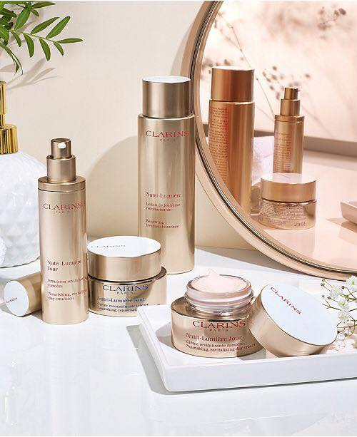 Clarins delivery