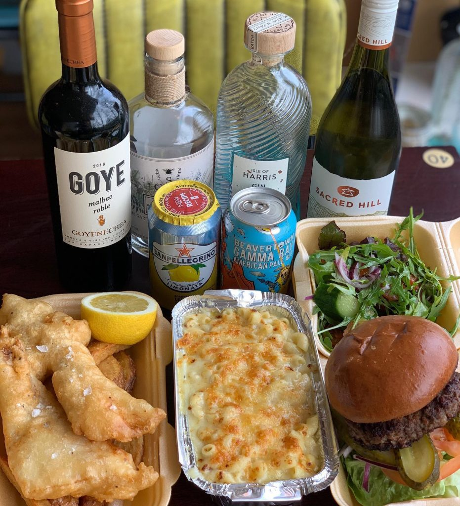 Finsbay food delivery