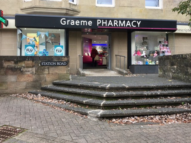 Graeme pharmacy shop open for essential goods