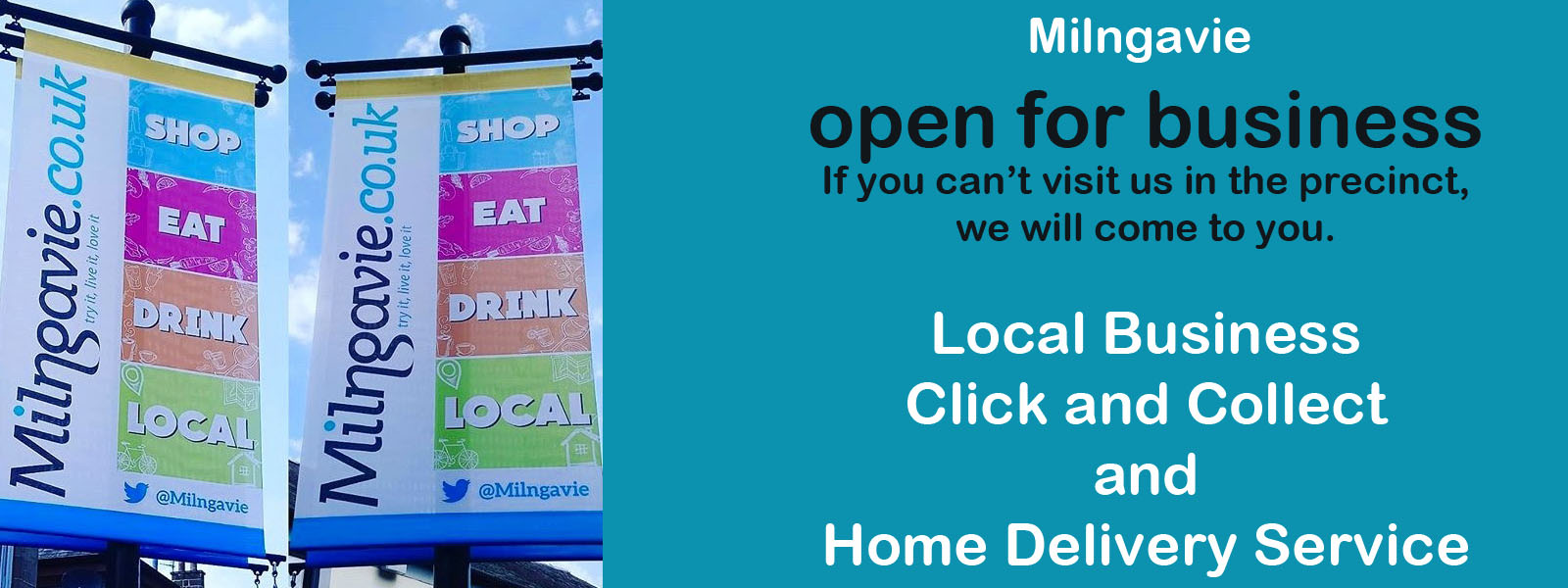 Milngavie Click and Collect Home Delivery