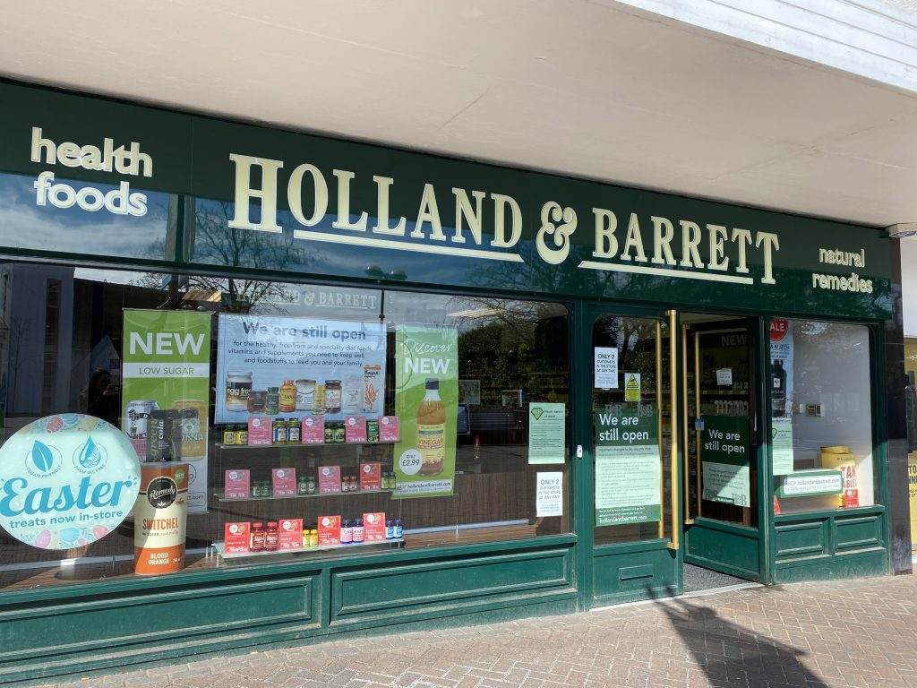 Holland and Barrett shops opened in Milngavie
