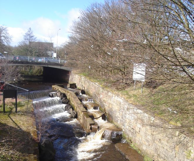 Allander Water Fish Ladder