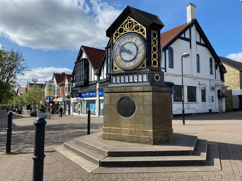 Milngavie Town Centre Clock