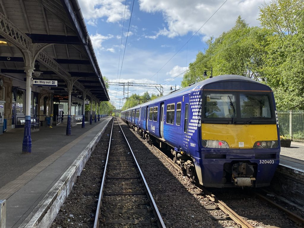 Train station transport