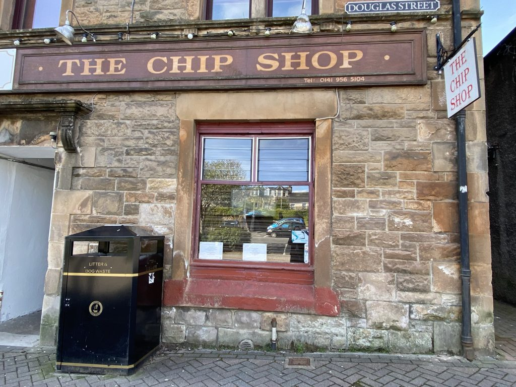 The Chip Shop open in Milngavie