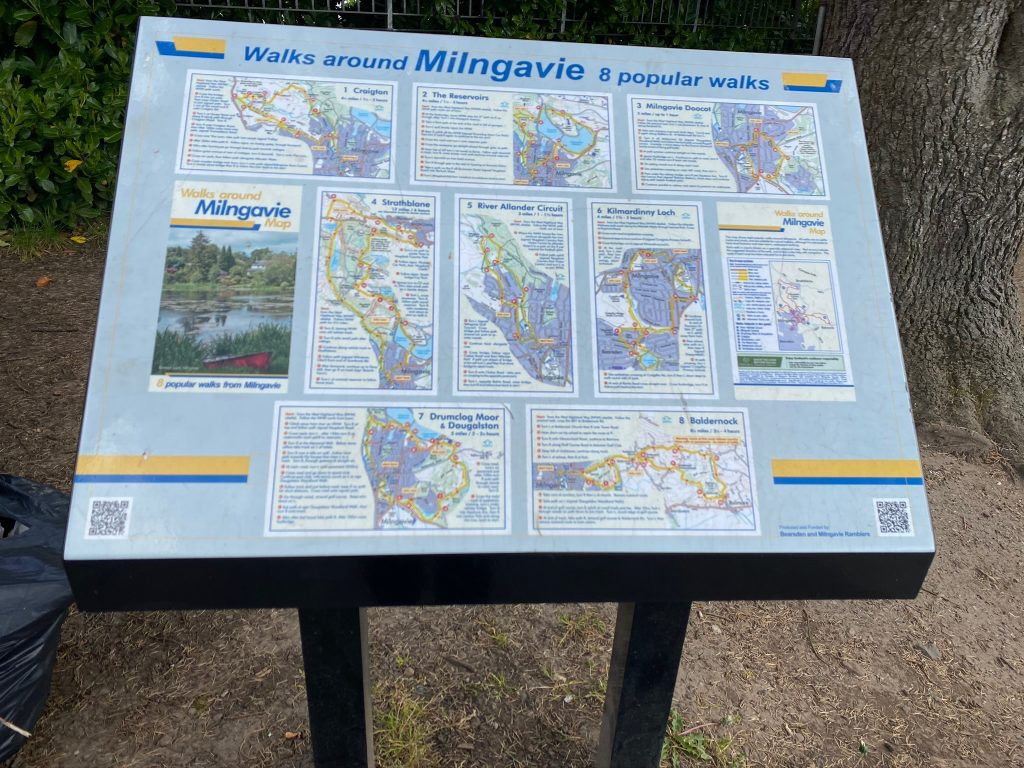 Milngavie local walks