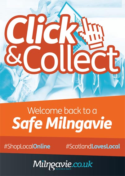 Milngavie click and collect campaign