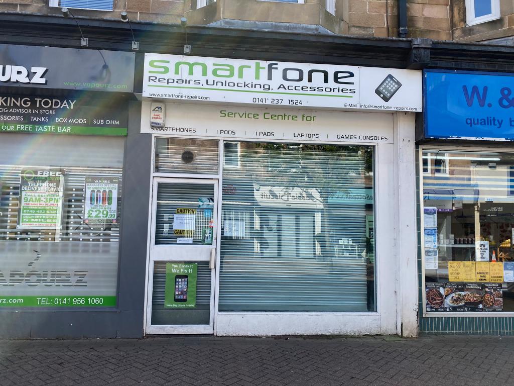 Smartfone repairs, unlocking, accessories in Milngavie