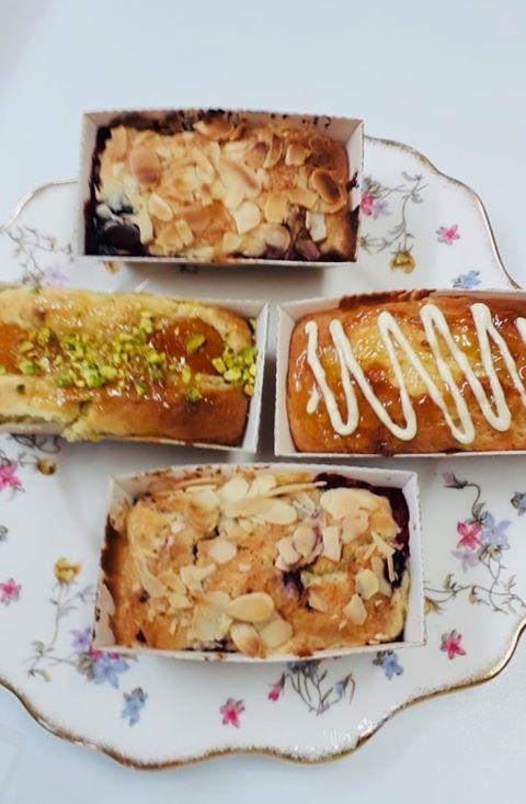 Freshly made cakes from Gavin's Mill