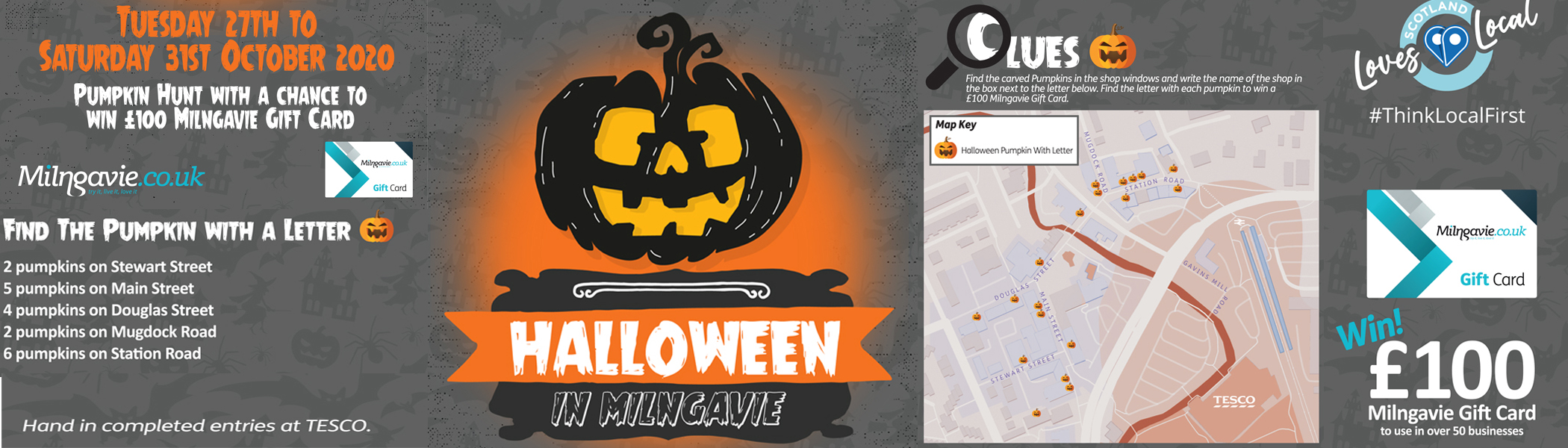 Milngavie Pumpkin Trail 2020