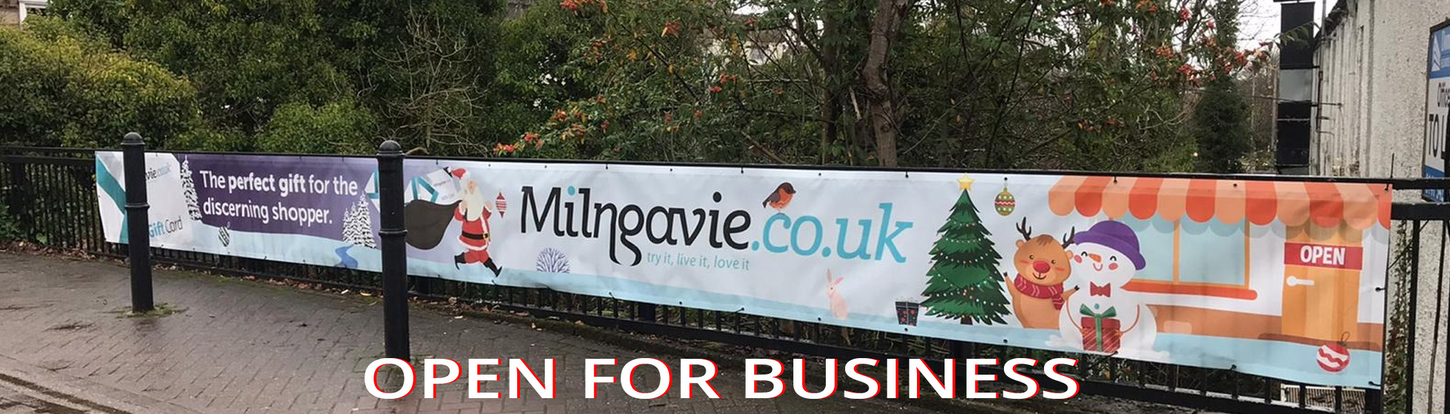Milngavie Open For Business 2020