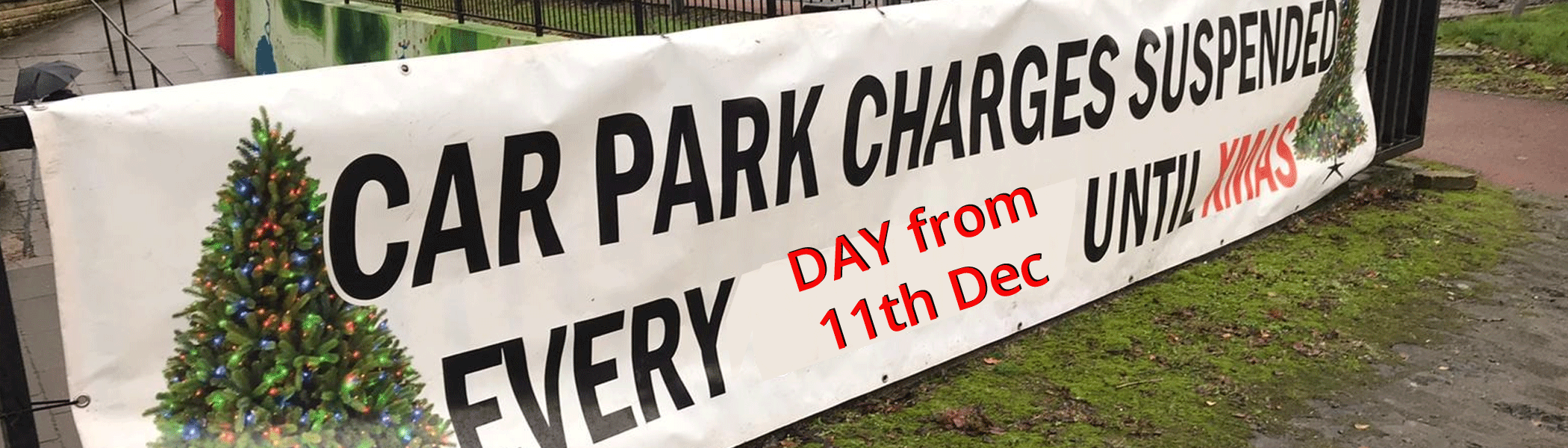 Free Festive Parking to boost Economy