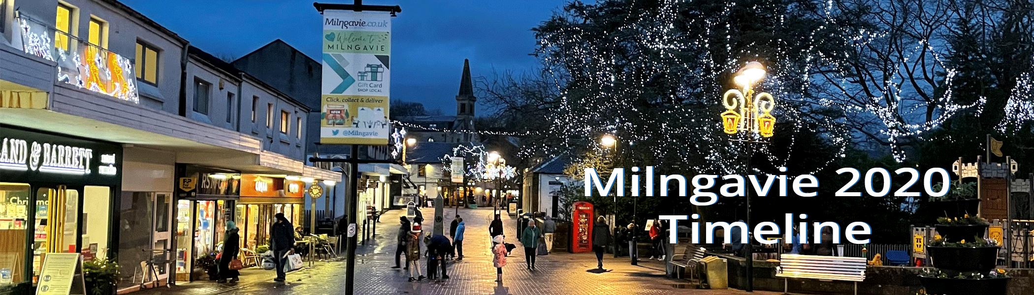 Milngavie 2020 Timeline