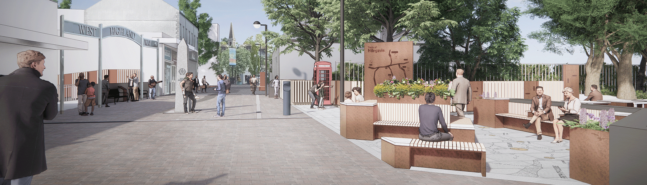 Taking strides towards future in town centre